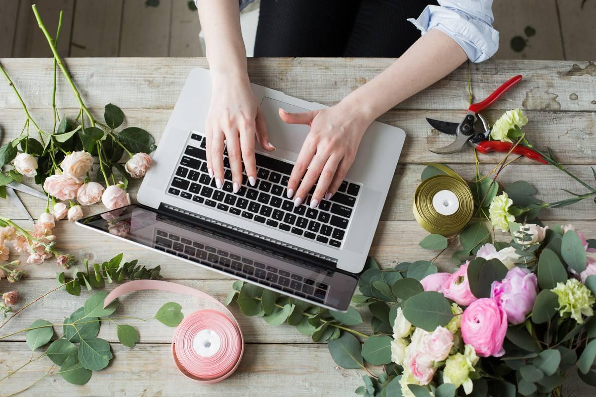 Choix offert par les e-fleuristes S1 2018