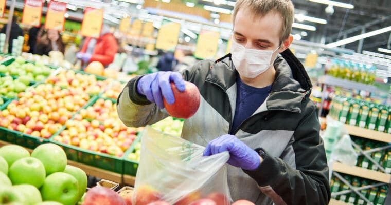 crise sanitaire achats alimentaires