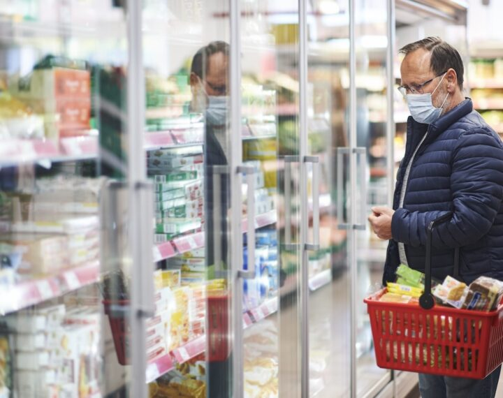 Effet covid dans le retail alimentaire